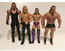 WWE Mattel Wrestlemania 30 Walmart SET OF 4 Paul Bearer Rusev Undertaker Y2j + 1