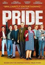 Pride (DVD, 2014) New Sealed True Story Strike Movie Bill Nighy Dominic West