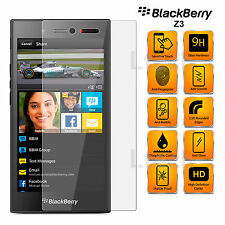 BlackBerry Z3 - Anti Scratch Transparent Tempered Glass Screen Protector