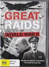 Great Raids of World War II 2007 DVD War Doco Excellent condition FREE POST