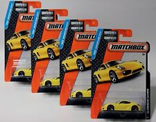 '14 PORSCHE CAYMAN * LOT OF 4 * 2015 MATCHBOX