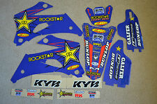 ROCKSTAR  GRAPHICS & BACKGRNDS YAMAHA WRF250 WR250F 07-14 & 07-11 WR450F WRF450