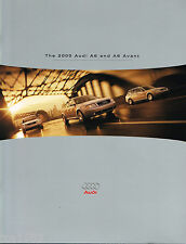 2000 AUDI A6 / AVANT Brochure / Catalog with Color Chart, '00