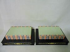 #65 Pair of Base for Japanese HINA Dolls ODAIRI-SAMA & OHINA-SAMA