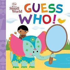 Guess Who! by Disney Book Group (Board book, 2012)