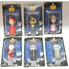 NECA NBX Nightmare Before Christmas set of 6 Light up Keychains Jack Sally Shock