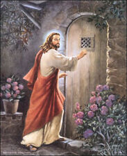 Jesus Knocking at the Door Art Print Size 16x20 inches