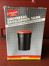 Rokunar Universal Developing Tank With Two Plastic Film Reels for 35mm and 120
