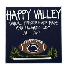 NCAA Penn State Nittany Lions Happy Valley Wood Plaque - Penn State Bar Sign