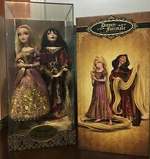 DISNEY LIMITED EDITION DOLL HEROES VS VILLAINS RAPUNZEL & MOTHER GOTHEL