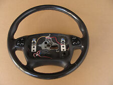 00-02 Camaro Z28 SS Leather Steering Wheel w/ Radio Control Buttons 121815