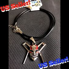 BLEACH Anime Ichigo Kurosaki Shinigami Soulreaper Hollow Death Mask Necklace NEW
