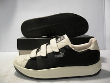 PUMA GVV LOW VINTAGE SNEAKERS MEN SHOES BLACK/WHITE 340226-04 SIZE 12 NEW