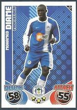 TOPPS MATCH ATTAX 2010-11- #333-WIGAN ATHLETIC & SENEGAL-MOHAMED DIAME