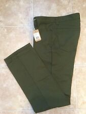 CC FILSON Men's Twill 5 Pocket Pants Jeans 32x34 Olive Green NWT Style 10523