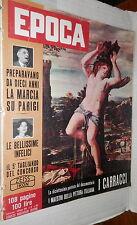 EPOCA 8 Giugno 1958 Canzoni neorealiste Carabinieri Pettinati Bette Davis Valeri