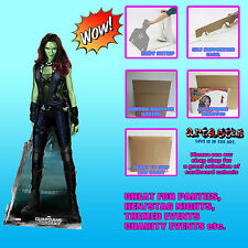 Gamora LIFESIZE CARDBOARD CUTOUT Marvel Guardians Of The Galaxy Standee/Stand Up