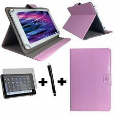 10.1 zoll Tablet Tasche + Folie + Stift - ARCHOS 101c Copper - 3in1 Rosa 10