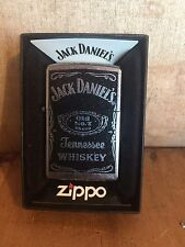 Jack Daniel's OLD NO.7 Rare Boxed Zippo Lighter From 2010