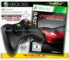 Original microsoft xbox 360 wireless controller + Ferrari racing legends NEUF