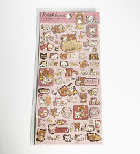 Rilakkuma Stickers - Rilakkuma Cat Style 1 San-X Kawaii Japan UK
