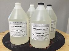 TABLE TOP EPOXY RESIN , CRYSTAL CLEAR, HIGH GLOSS , 4gals, ($41.14/gal) $165.56