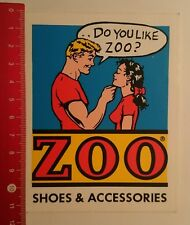 Autocollant/sticker: do you like zoo shoes & accessoires (02081617)