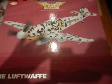 CORGI AVAITION 1;32 MESSERSCHMITT BF 109G-2 YELLOW 12 PETSSAMO FINLAND 1943