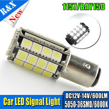 1x 1157 BAY15D P21/5W 380 WHITE 5050 36 LED STOP BRAKE TAIL LIGHT BULBS LAMPS