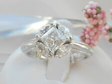 Tacori Epiphany Diamonique Princess and Marquise cut Ring Size 8