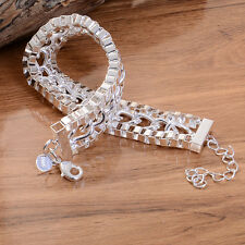 hot New fashion women beautiful  925 Silver  Bracelet N-123