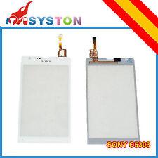 Pantalla Tactil Digitalizador Cristal Sony Xperia SP M35H C5303 Repuesto Blanco