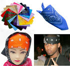 Women Men Paisley Head Wrap Turban Hood Headband Bandanna Scarf Kerchief Mask