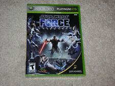 STAR WARS THE FORCE UNLEASHED...XBOX 360...***SEALED***BRAND NEW***!!!!!
