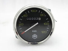 VESPA BRAND NEW SPEEDOMETER PX 80, 125, 150, 200, 0-120KMPH CHROME V14300
