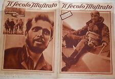Italo Balbo Aljechin Horthy Bruce a Tachikawa Marinetti a Napoli Aviatore Kading