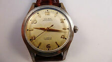 OLMA vintage watch uhr handaufzug cal AS 1506