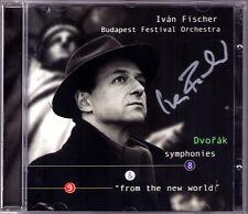 Ivan FISCHER Signiert DVORAK Symphony No.8 & 9 From the New World CD Budapest