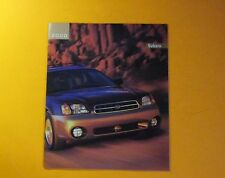 2000 SUBARU MODELS SHOWROOM SALES BROCHURE...12 - PAGES