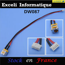 Connecteur alimentation dc power jack socket cable wire dw087 Acer Aspire 5735