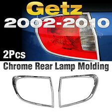 Chrome Rear Lamp Garnish Molding Cover Trim A739 For HYUNDAI 2002-12 Click Getz