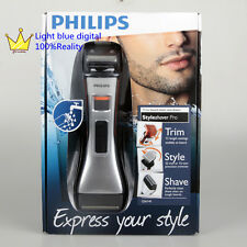 Philips Norelco StyleShaver Pro Silver orange QS6140/32 beard styler and shaver