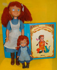 ANNA CAPELLI ROSSI ANNE GREEN GABLES BAMBOLA FURGA 24/36 FIGURE doll LIBRO BOOK