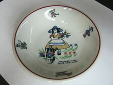 Vintage Shenango Rimrol China Nursery Rhyme Child's Bowl Mary Quite Contrary