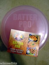 BRAND NEW Chef Reece Williams BATTER PRO As Seen on TV Breading Shake Flip Tray