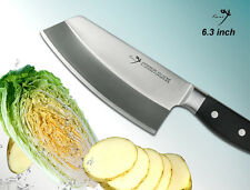 "Japanese Steel All Purpose Cleaver 6.3"" Full Tang Vegetable Knife Kitchenware"