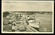 "Ship ""Scania"" Sweden Real Photo""Arietta C. Beinvle""of Ohio ( post card(SH#1)#114"