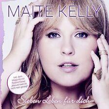 """Maite Kelly """"sieben leben für dich"""" CD NEU Album 2016"""