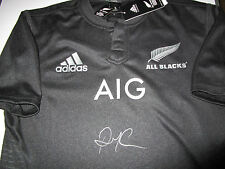 Richie McCaw signed NZ All Blacks 2015 Jersey -   2015 World Cup Champions