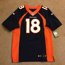**NFL SHOP** Peyton Manning Denver Broncos NIKE Authentic Elite Game Jersey 40